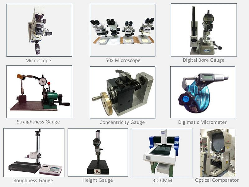 High Precision Metal Parts Inspection Equipment.